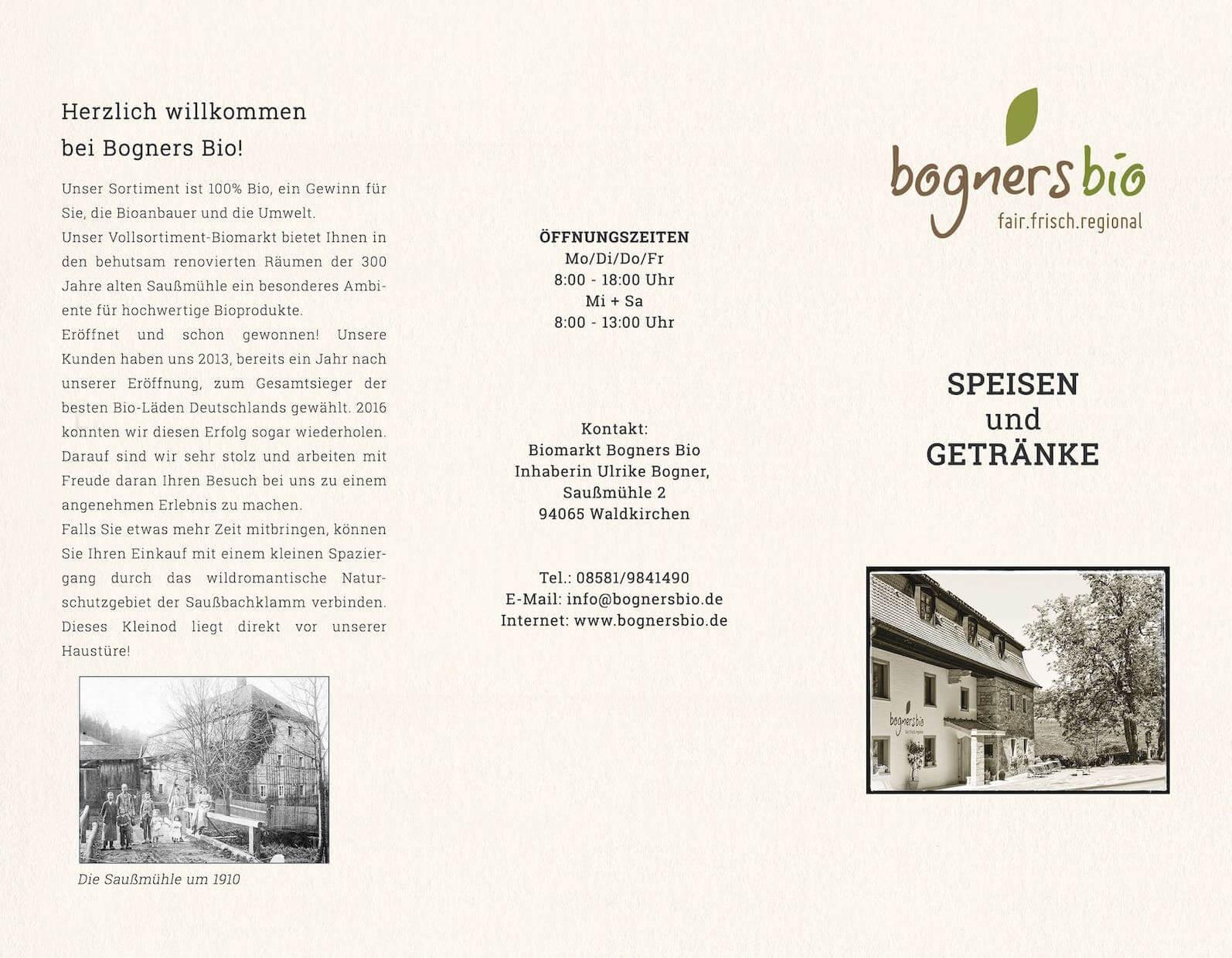 Speisekarte Bogners Bio 2020-1
